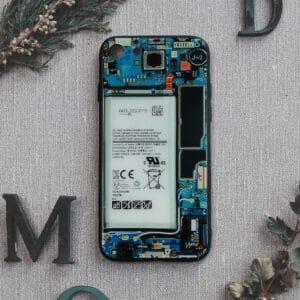iPhone 7/8/SE 2020 bagside i glas, Indmad, turkis