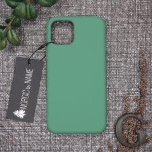iPhone 11 Pro bagside silikone, Lys Petroleum