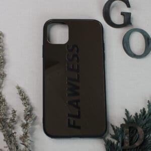 iPhone 11 bagside med spejl effekt, Flawless