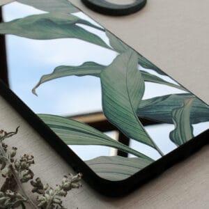 iPhone 11 Pro Max bagside med spejl effekt, Plante