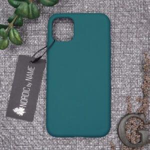 iPhone 11 bagside silikone, Mørk Petroleum