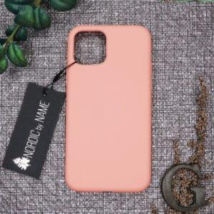 iPhone 11 bagside silikone, Pink