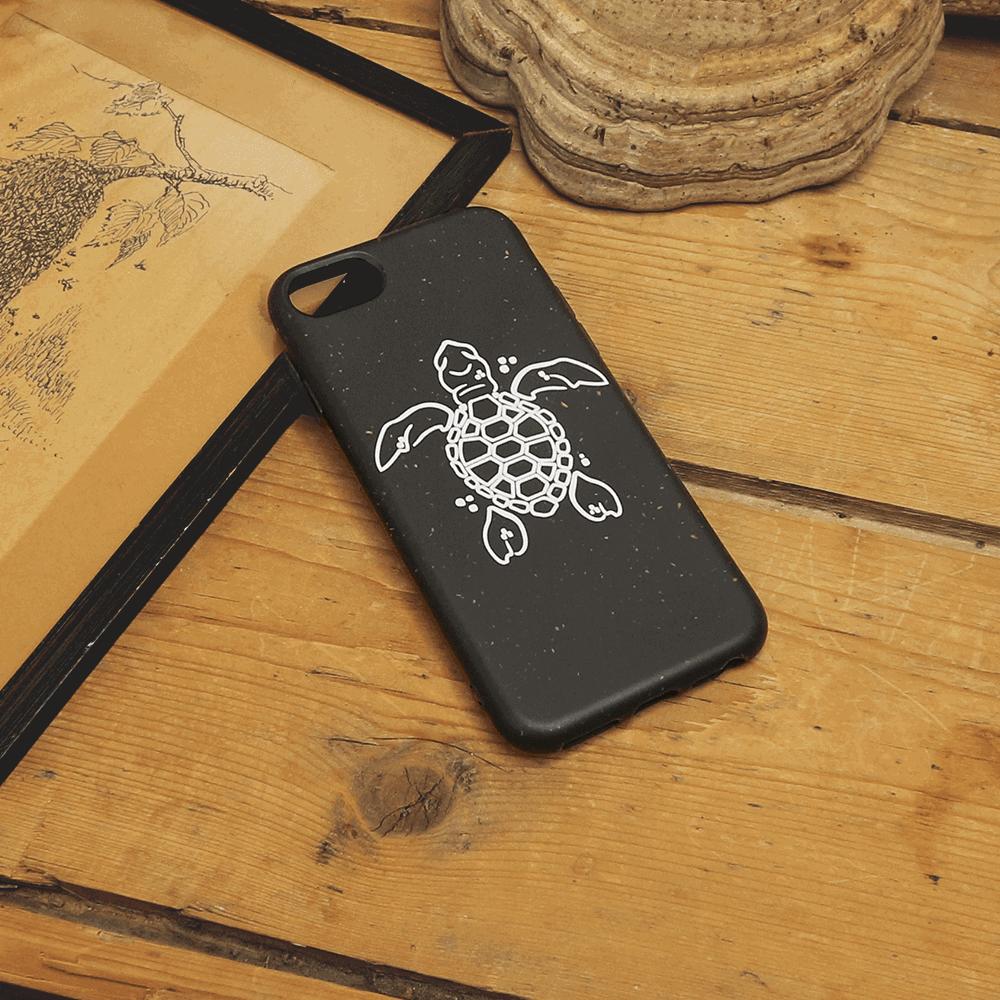 iPhone 7/8/SE - Skildpadde, Hvid