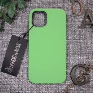 iPhone 12 Mini bagside silikone, Grøn