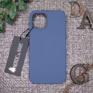 iPhone 12/12 Pro bagside silikone, Blå