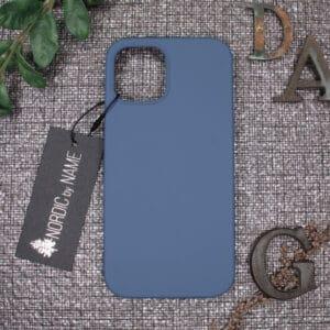 iPhone 12 Pro Max bagside silikone, Blå