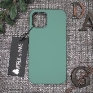iPhone 12/12 Pro bagside silikone, Lys Petroleum