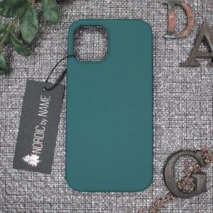 iPhone 12/12 Pro bagside silikone, Mørk Petroleum