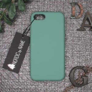 iPhone 7/8/SE 2020 bagside silikone, Lys Petroleum