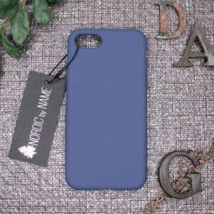 iPhone 7/8/SE 2020 bagside silikone, Blå