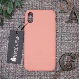iPhone X/XS bagside silikone, Pink