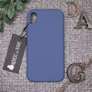iPhone XR bagside silikone, Blå