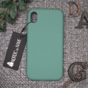 iPhone XR bagside silikone, Lys Petroleum