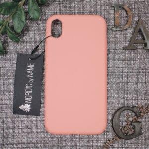 iPhone XR bagside silikone, Pink