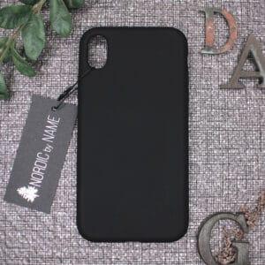 iPhone XS Max bagside silikone, Sort