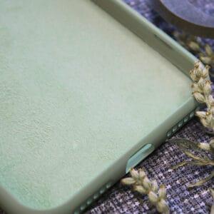 iPhone 7/8/SE 2020 bagside silikone, grøn