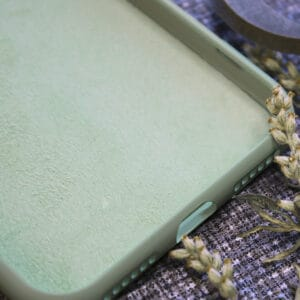 iPhone 6/6S bagside silikone, grøn