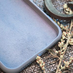 iPhone 11 Pro Max bagside silikone, Lyseblå