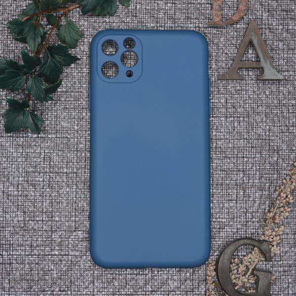 iPhone 11 Pro Max bagside silikone, Blå