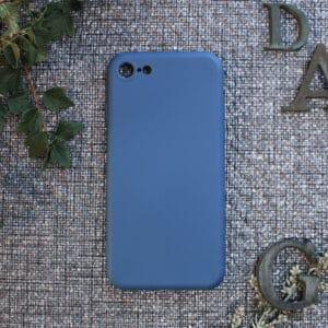 iPhone 6/6S bagside silikone, blå
