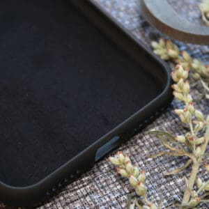 iPhone 6/6S bagside silikone, sort