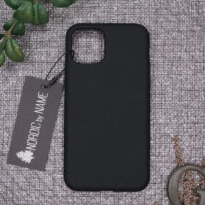 iPhone 11 Pro bagside silikone, Sort