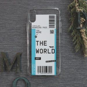 iPhone XR Transparent, Flybillet