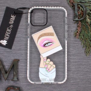 iPhone 12 Mini, Transparent, Øje