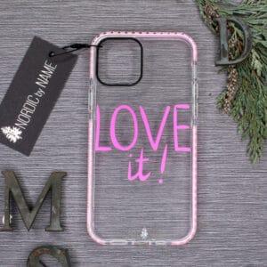iPhone 12/12 Pro, Transparent, Love it