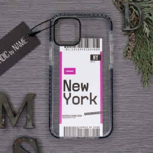iPhone 12 Pro Max, Transparent, New York