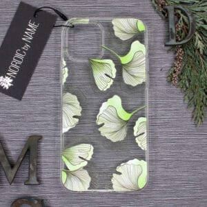 iPhone 12/12 Pro, Transparent, Plante