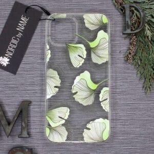 iPhone 12 Mini, Transparent, Plante