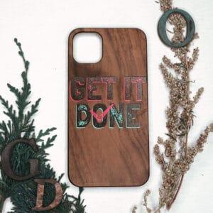 iPhone 11 Pro bagside i træ, Done