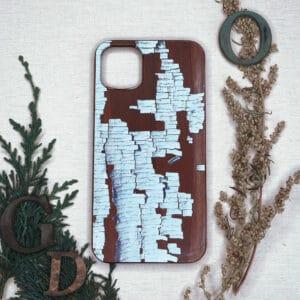 iPhone 11 bagside i træ, Birk