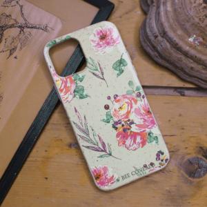 iPhone 12/12 Pro - Akvarel Blomster