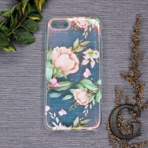 iPhone 7/8/SE 2020 - Holografisk Blomster