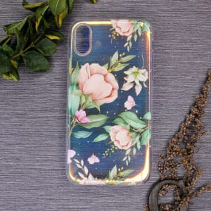 iPhone X/XS - Holografisk Blomster