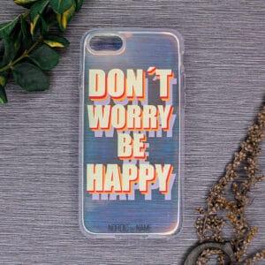 iPhone 7/8/SE 2020 - Holografisk Happy