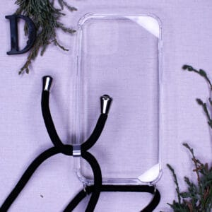iPhone 12/12 Pro - Transparent m. Skulderstrop
