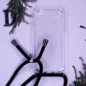 iPhone 7/8/SE 2020 - Transparent m. Skulderstrop