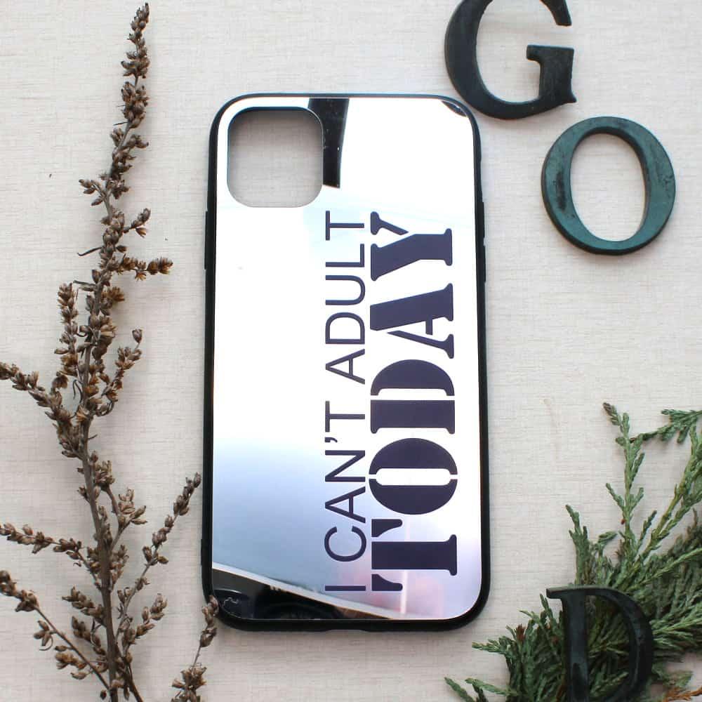 iPhone 11 bagside med spejl effekt, I cant....