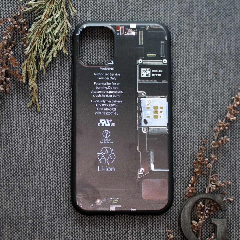 """iPhone 11 bagside , mobil """"indmad"""""""