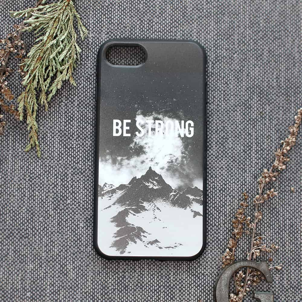 iPhone 7/8/SE2020 bagside , Be strong