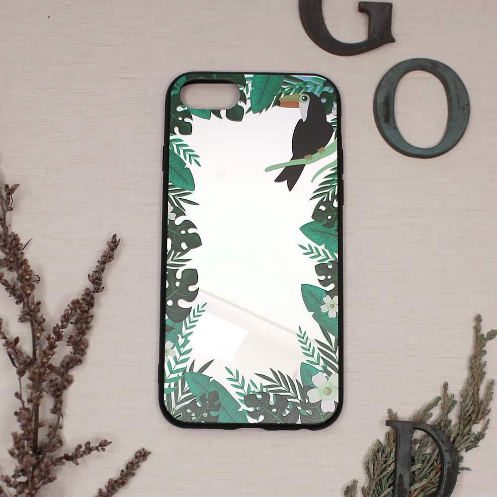 iPhone 7/8/SE2020 bagside med spejl effekt, Pekan