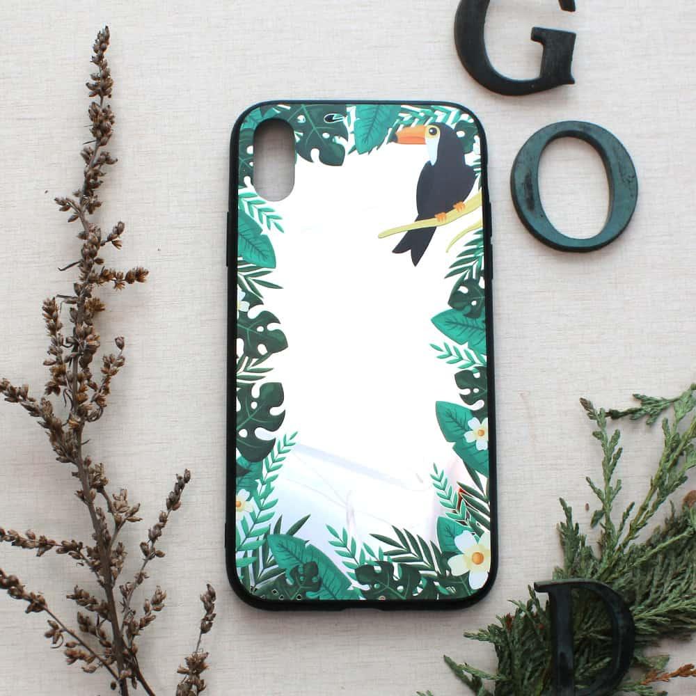 iPhone XR bagside med spejl effekt, Pekan
