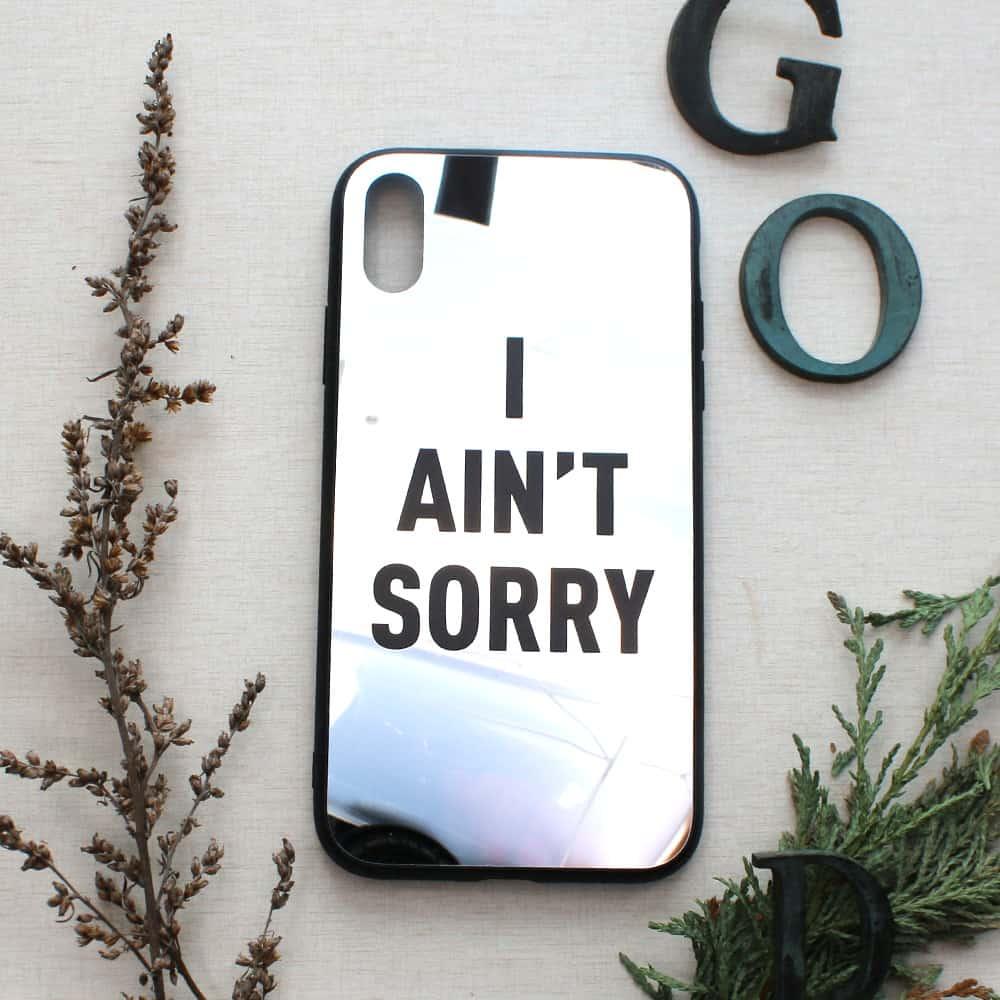 iPhone XR bagside med spejl effekt, I aint....