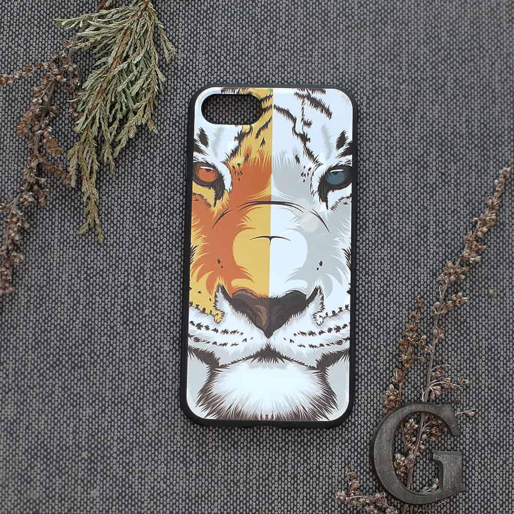 iPhone 7/8/SE2020 bagside , Tiger
